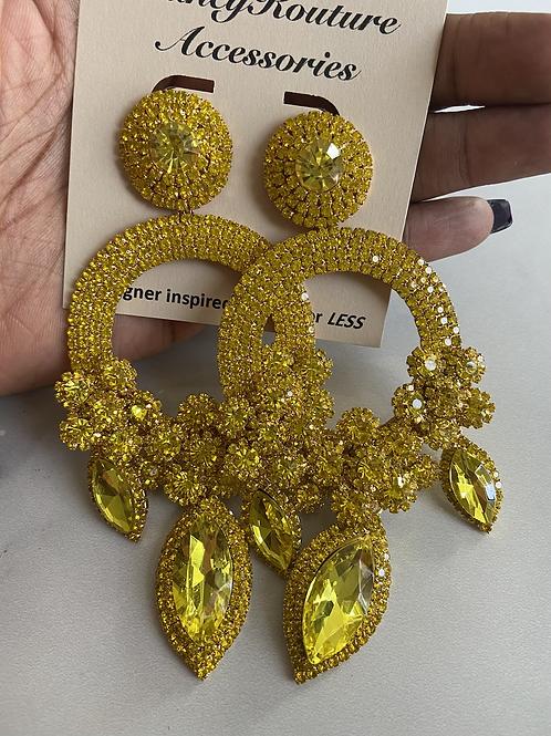 Medium size chandelier earrings