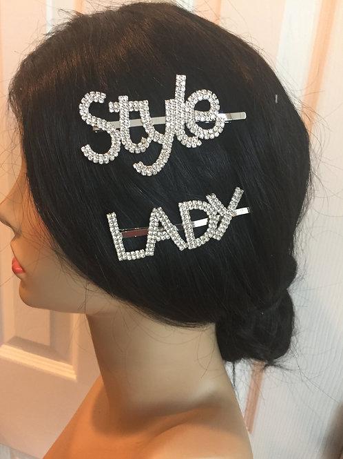 Trendy hair pins