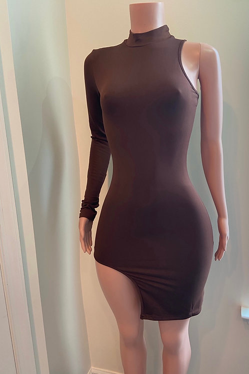 Brianna one shoulder dress