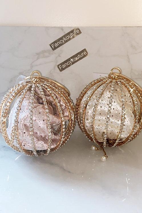 Diamond round bag