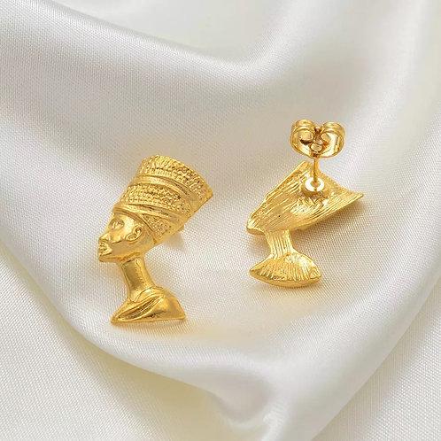 Mini queen earrings