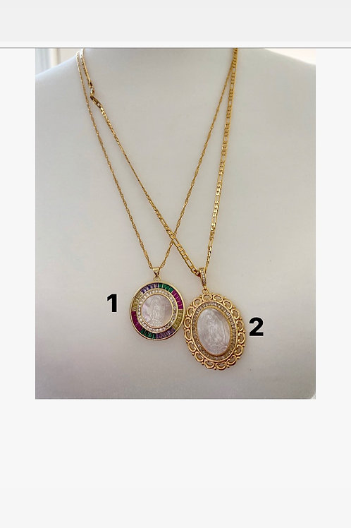 Mary dainty necklaces