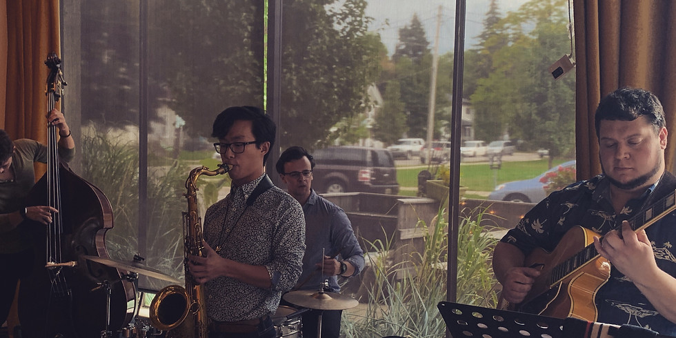 In The Blue Jazz at Creston Brewery