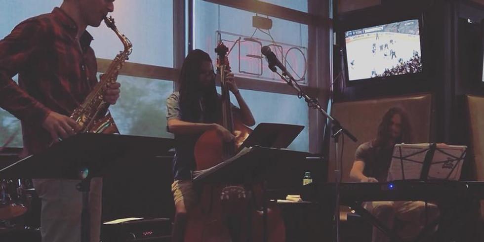 In The Blue Jazz Speakeasy Night