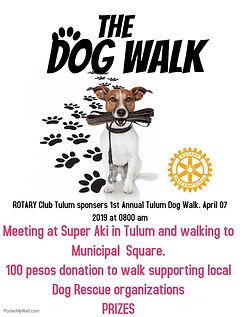 Tulum Dog Walk