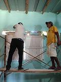 classroom repairs at Hekab be in Akumal
