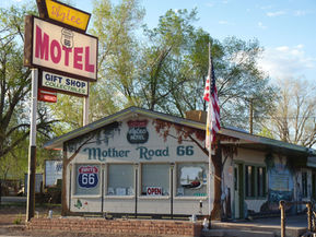 Motel route 66 Seligman en Arizona