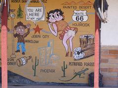 Panneau sur Joseph City en Arizona