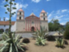 Mission Santa Barbara californie