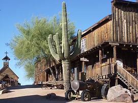 Village de Goldfield en Arizona