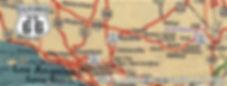 Carte de 1940 standad oil californie