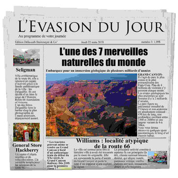 Journal de bord Grand Canyon avec Evasion Forever