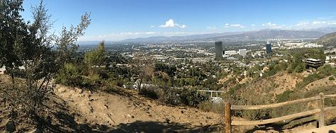 Hauteur de Los Angeles