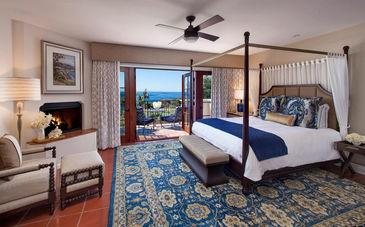 Chambre de luxe au Ritz-Carlton à Santa Barbara
