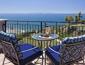 Vue océan d'une chambre au Ritz-Carlton à Santa Barbara