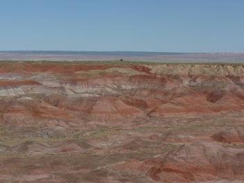 Paysage Painted Desert en Arizona