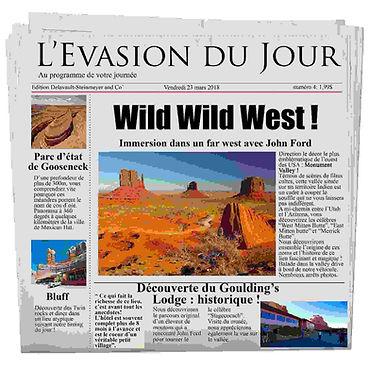 Journal de bord Evasion Forever, immersion au Far West avec John Ford
