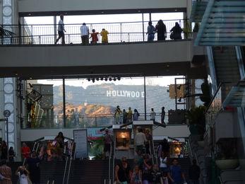 Vue panneau hollywood depuis le complexe Hollywood Highland