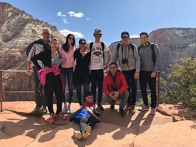 Equipe clients avril 2018 en Utah