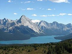 Province de l'Alberta - Lac Maligne.JPG