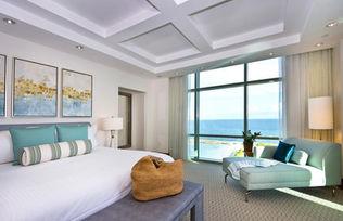 Nassau Bahamas, chambre de luxe Atlantis