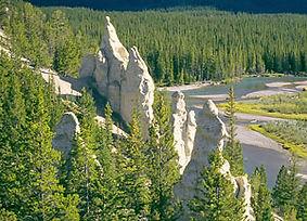 Randonnée au point des cheminées des Fées et du belvédère voyage canada avec Evasion Forever Voyages