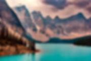Le lake Moraine avec Evasion Forever Voyages pour un circuit privé à travers les rocheuses canadiennes