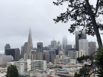 Vue de San FRancisco et la quartier des affaires