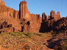 Région de Moab, fisher towers