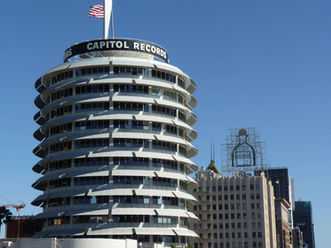 La célèbre Tour Capitol Records à Los Angeles