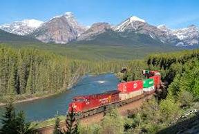 Morant's Curve park Natioonal de Banff au Canada, circuit privé avec chauffeur Evasion Forever Voyages
