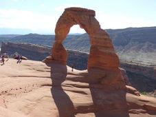 National Park Arch en Utah