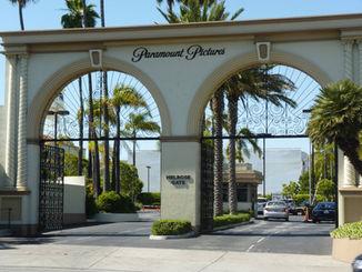 L'entrée des studios Paramount Pictures à Los Angeles