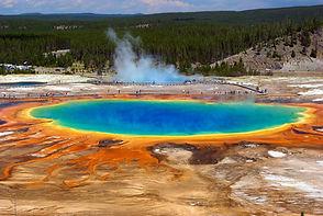 Grand Prismatic , Park National de Yellowstone