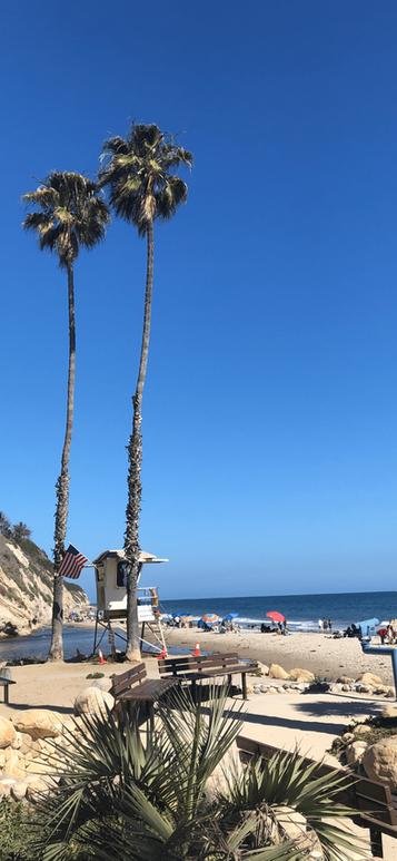 PLage vers Santa Monica