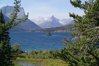 Lake St Mary Montana NP de Glacier