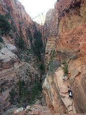 Trail Angels Landing, parc national de Zion