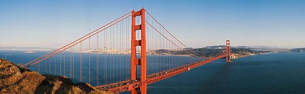 Panorama du Golden Gate San Francisco