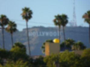 Vue des collines d'Hollywood