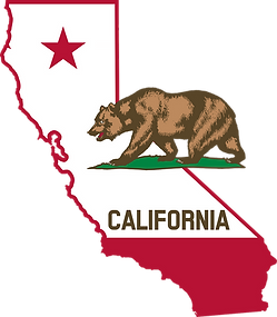 Carte de la Californie - Evasion Forever Voyages