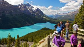 Lake Peyto en Alberta Canada