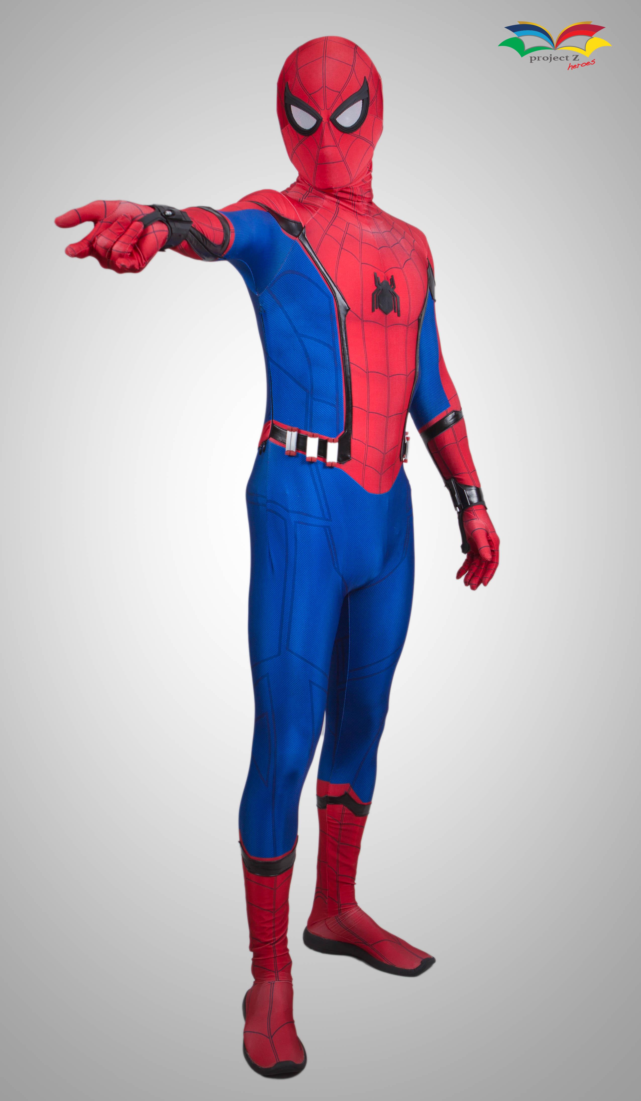 Spiderman homecoming costume shooting web