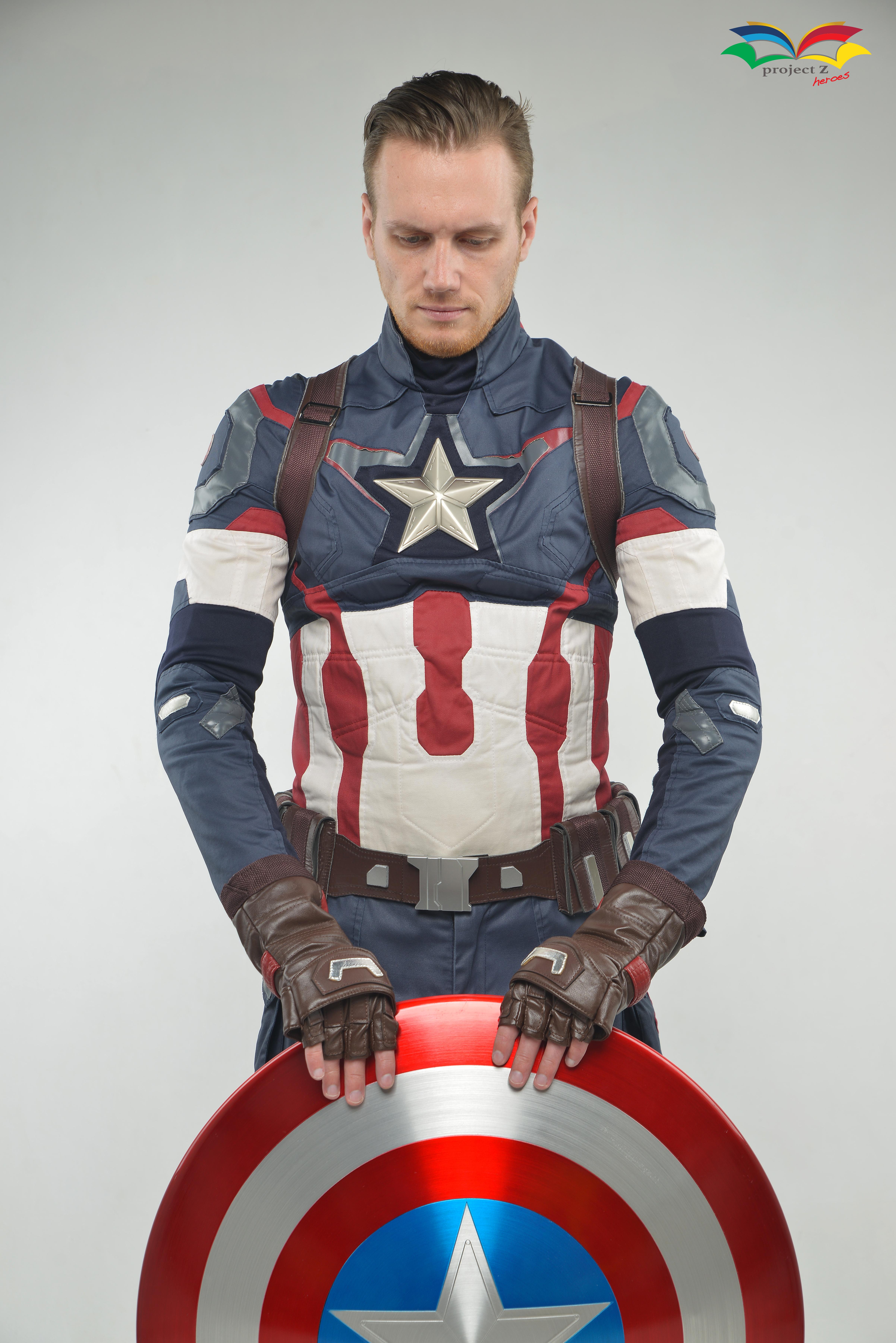 ชุดซุปเปอร์ฮีโร่ ชุด Captain America Sup