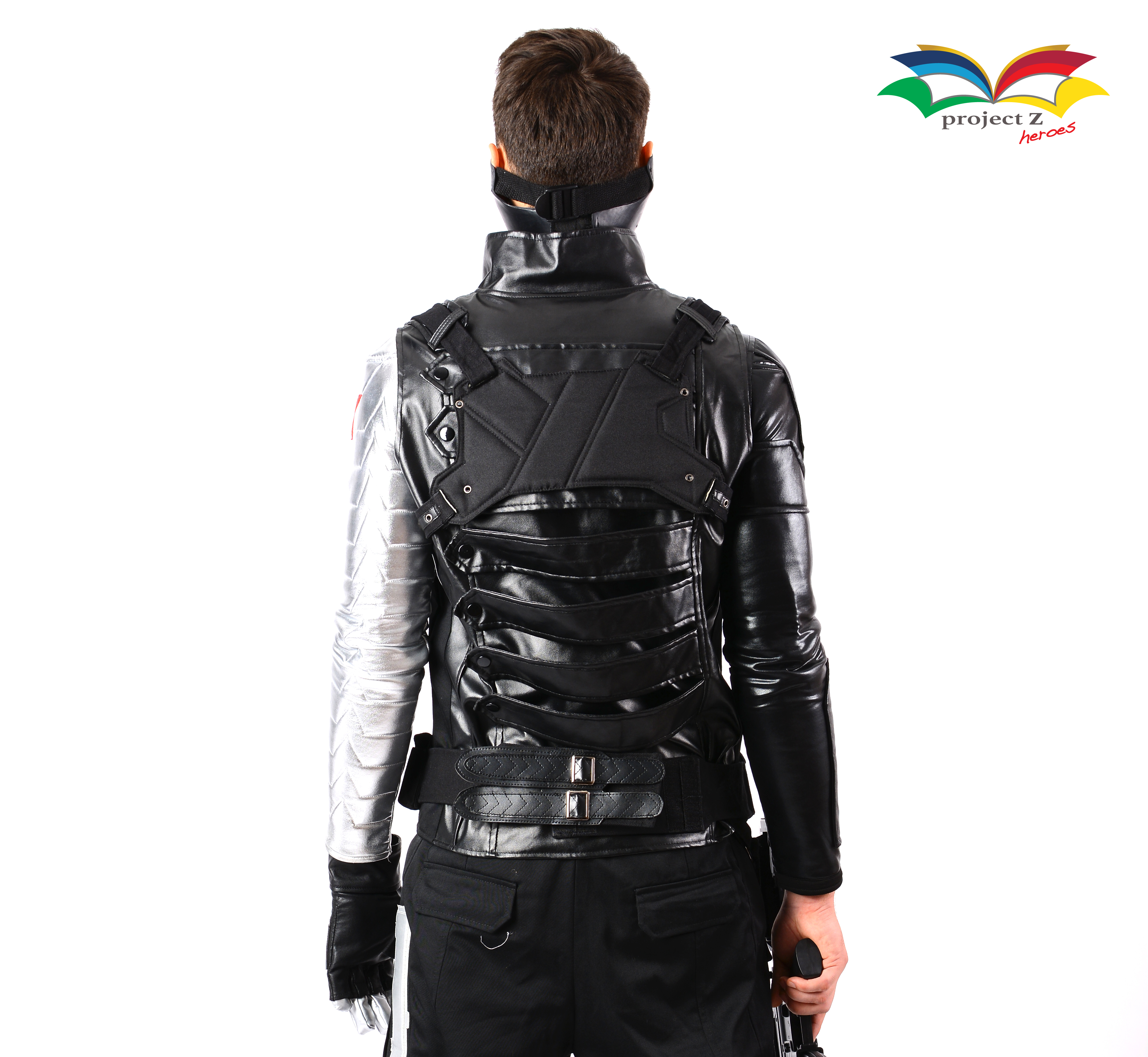 Winter Soldier costume back