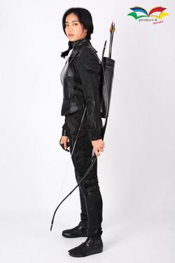 Hunger games Mocking Jay Katniss Everdeen costume 3