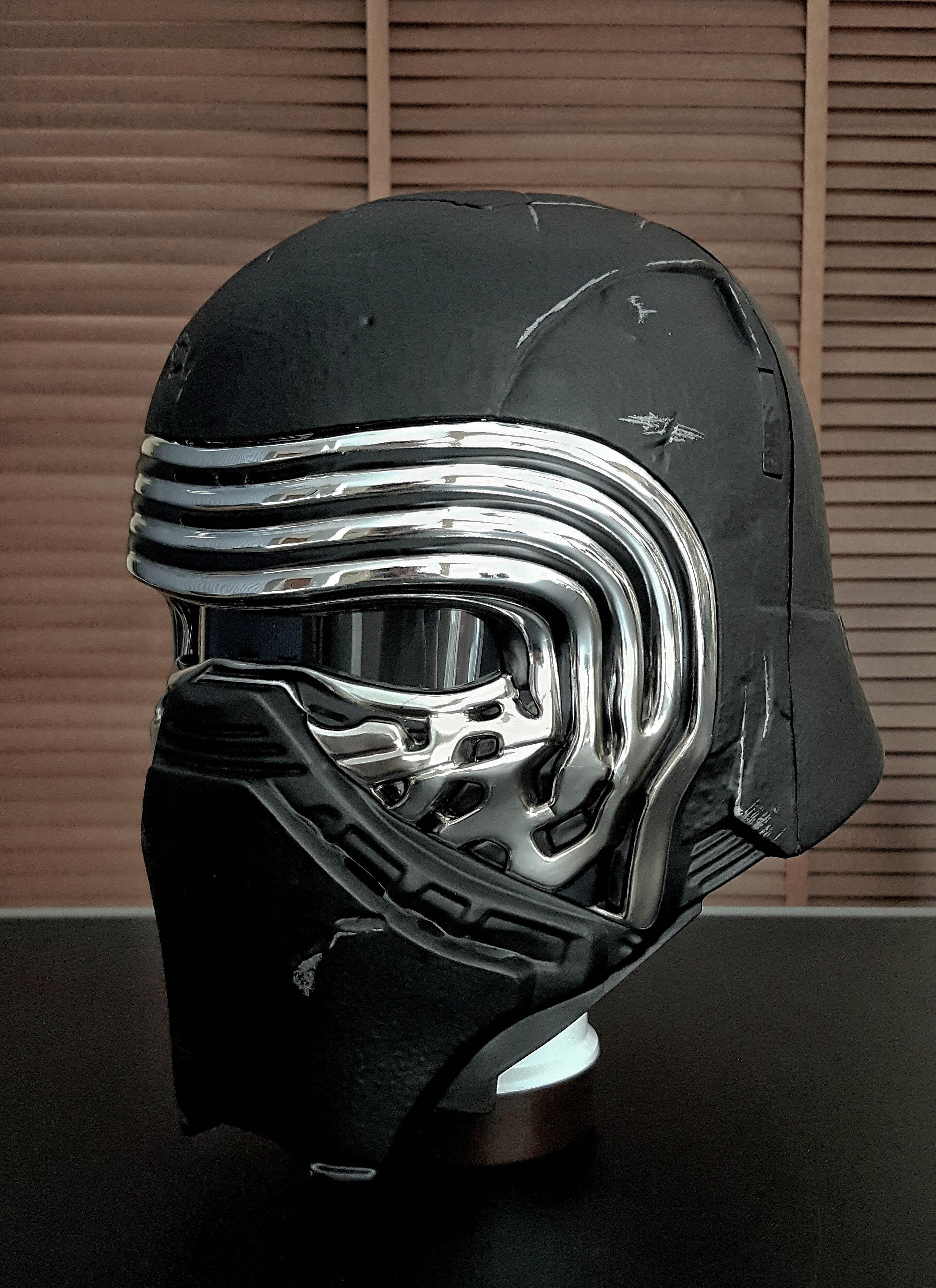 Kylo Ren Costume Helmet Side