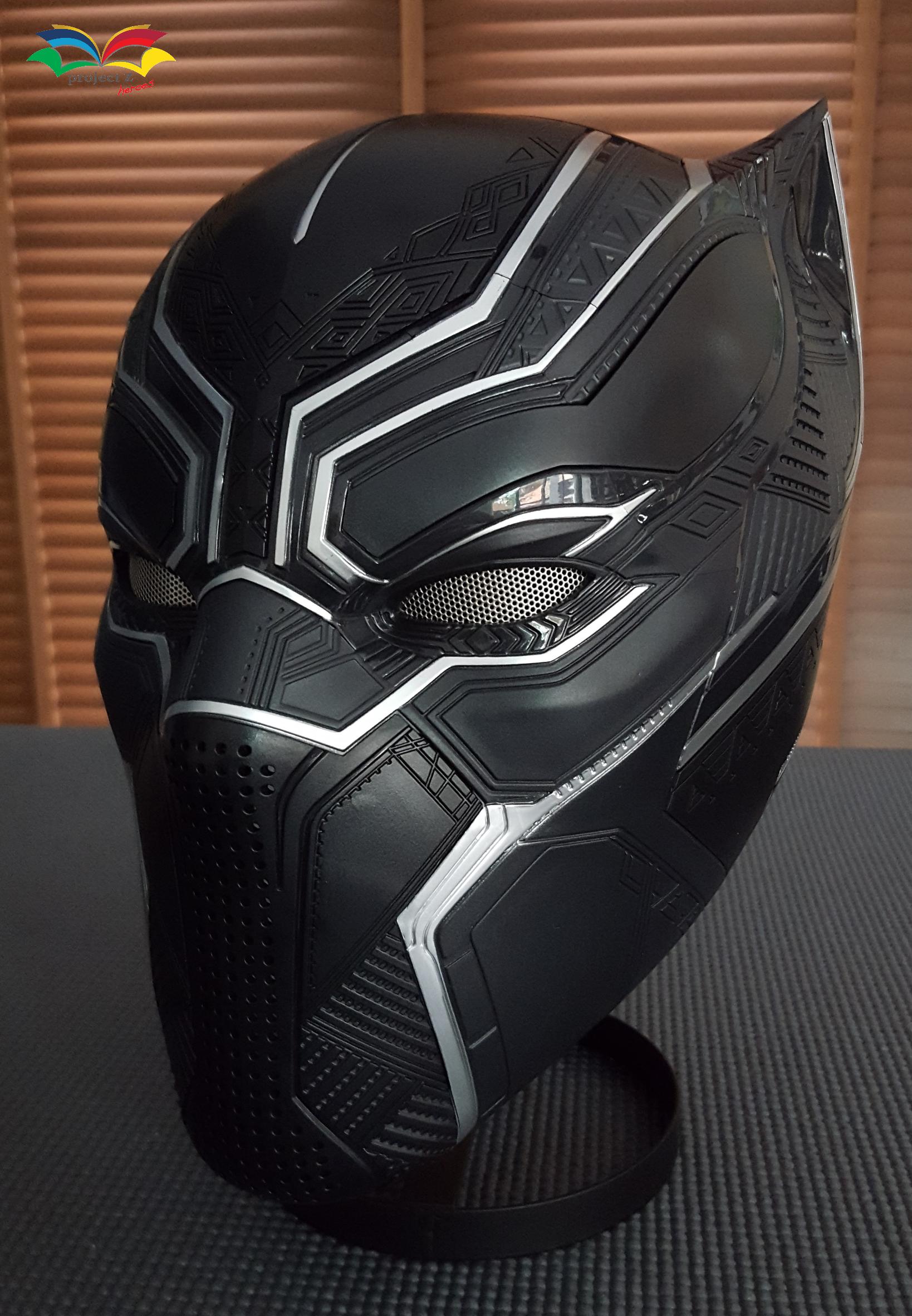 Black Panther costume helmet 1