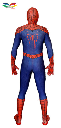 Spiderman costume back fullbody