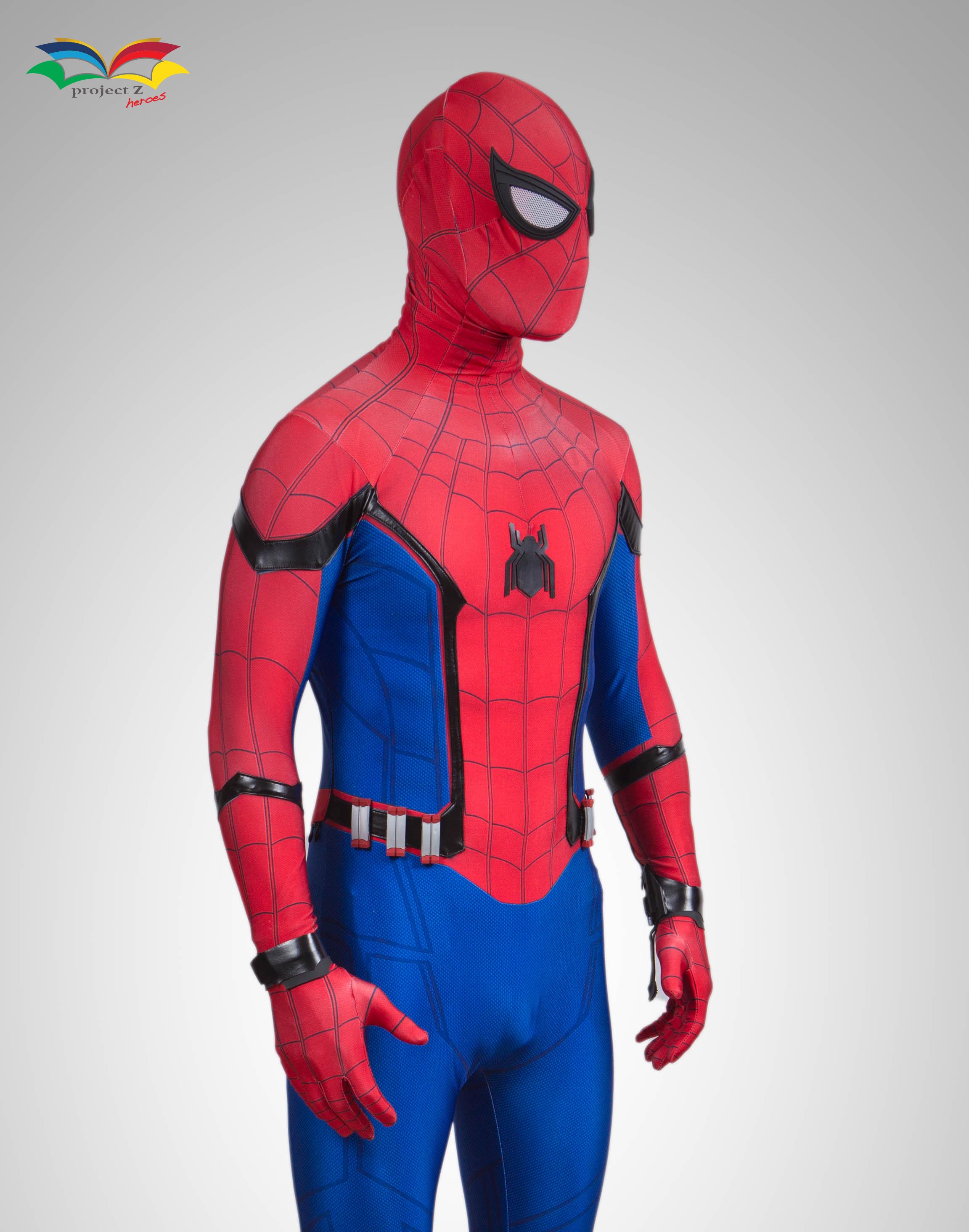 Spiderman homecoming costume frontsideway 2