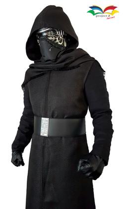 Kylo Ren costume closeup